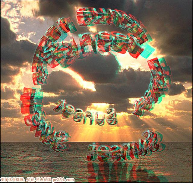 红蓝眼镜3d图片_红蓝3D眼镜测试演示3D图片-景物及其它篇 :: 科杰在线pc354.com 合肥 ...