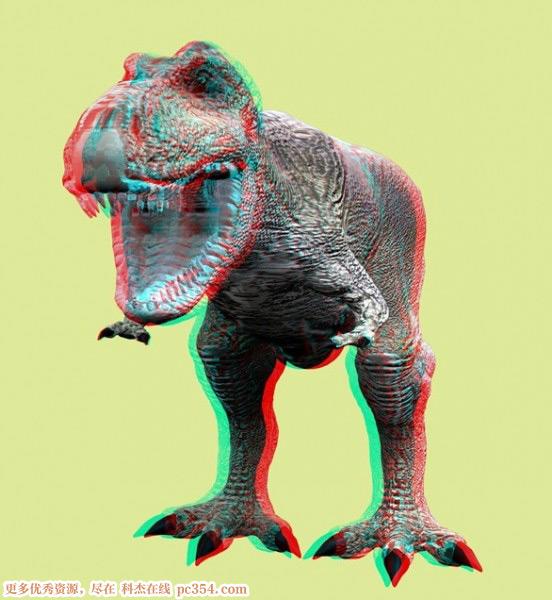 红蓝眼镜3d图片_红蓝3D眼镜测试演示3D图片-动物植物篇 :: 科杰在线pc354.com 合肥 ...